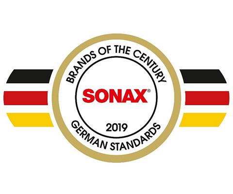 Sonax es premiada por tercera vez como