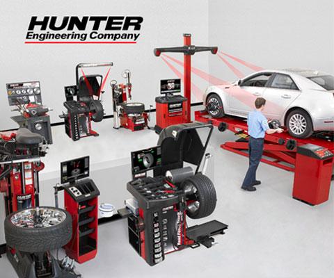 Autorex Peruana S.A. representante exclusivo, en el Perú, de Hunter Engineering Company.